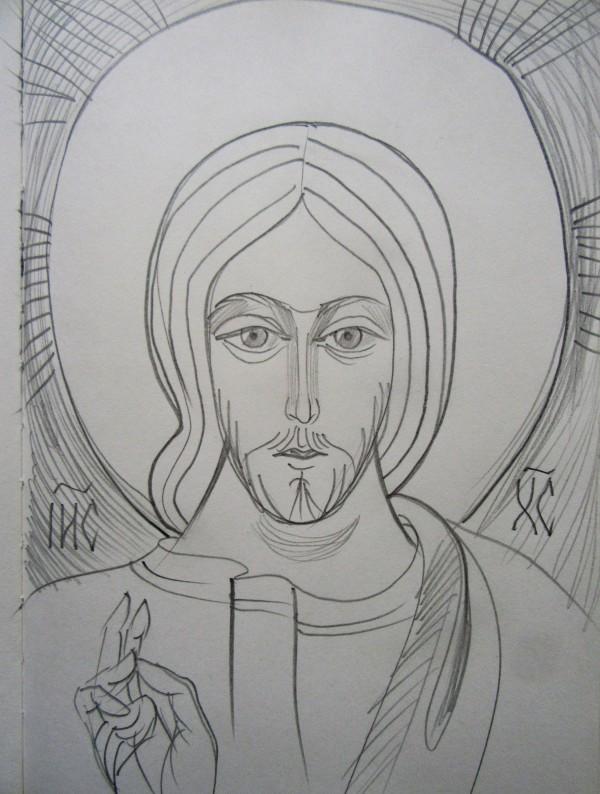 Jesus Christ by Gallina Todorova
