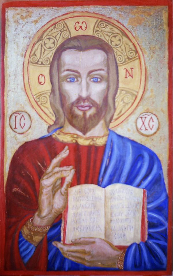 Jesus Christ in Lilkovo by Gallina Todorova