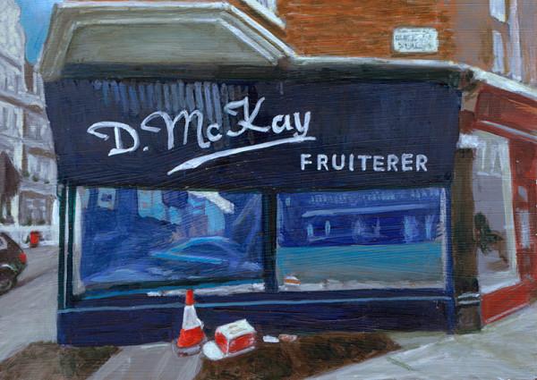 D.McKay Fruiterer, South Kensington