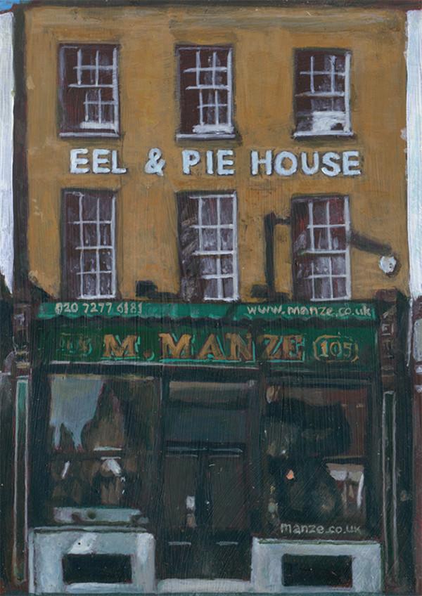 M.Manze Eel & Pie House, Peckham