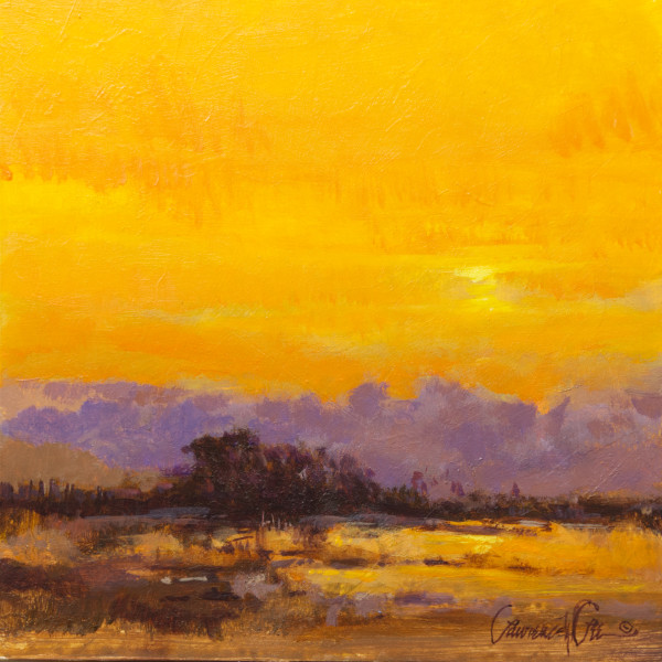 Yellow Morning by Lawrence Lee