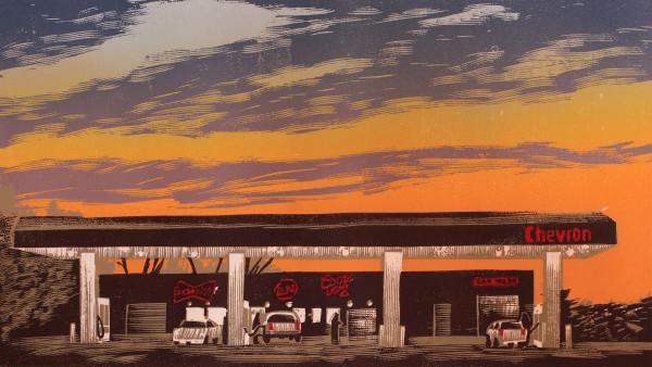 Temple Chevron by Tony Lazorko