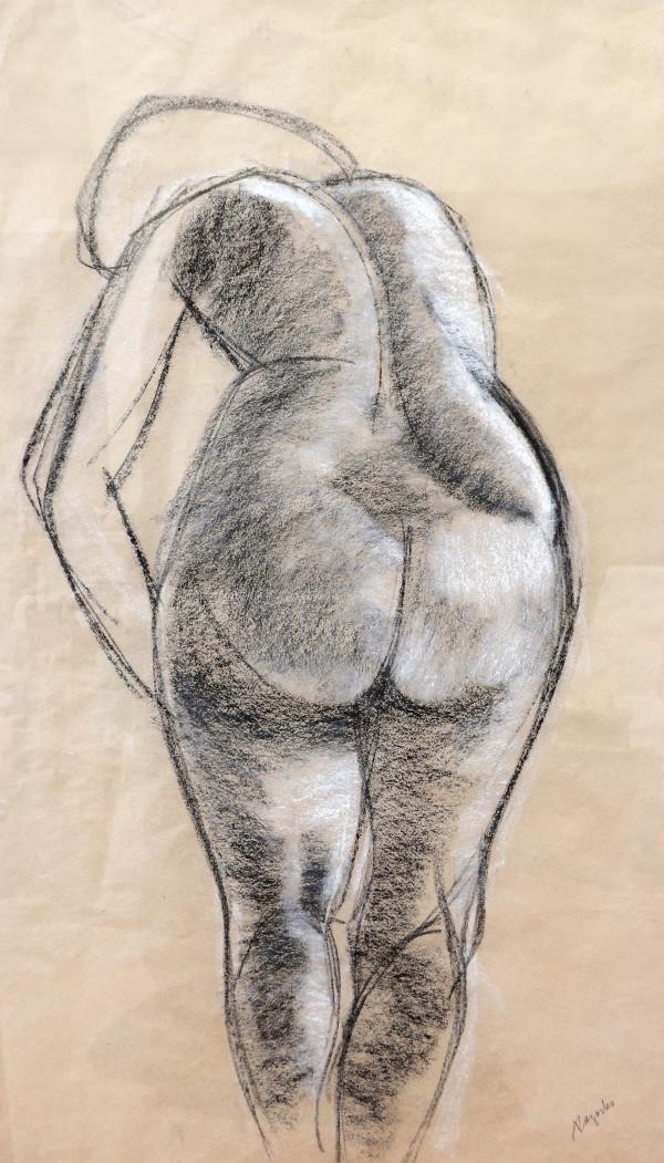 Nude Study by Tony Lazorko