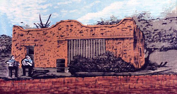 Old Mesilla Blacksmith Shop by Tony Lazorko