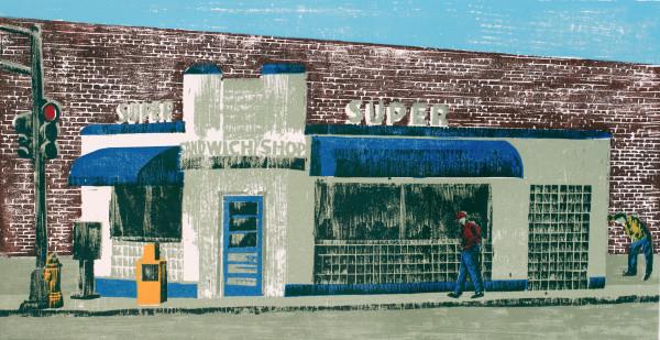 Super Sandwich Shop by Tony Lazorko