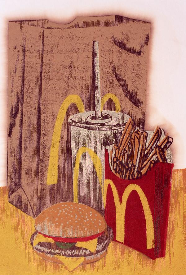 Fast Food Still Life by Tony Lazorko