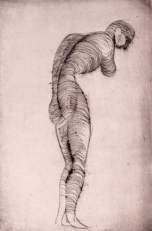 Figure Study by Tony Lazorko