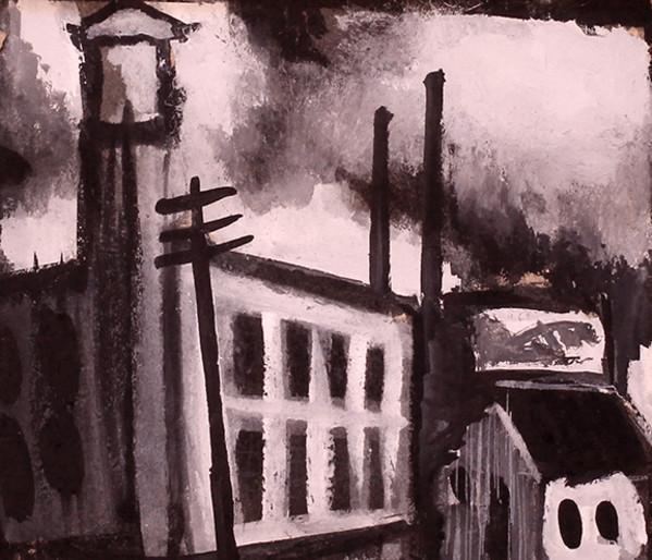 Cityscape by Tony Lazorko