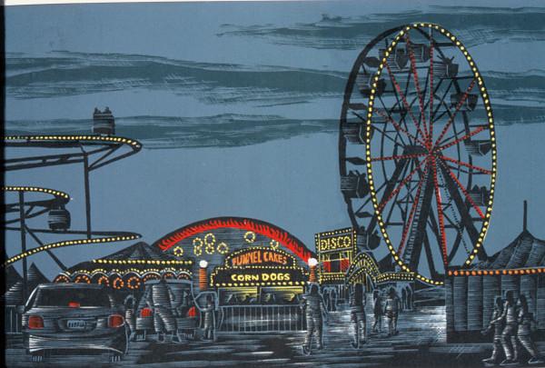 Carnival at Night by Tony Lazorko