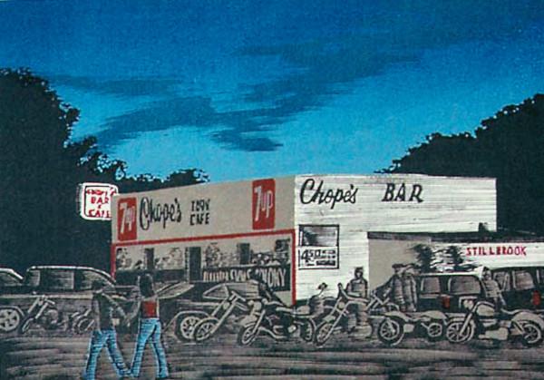 Saturday Night at Chope's by Tony Lazorko