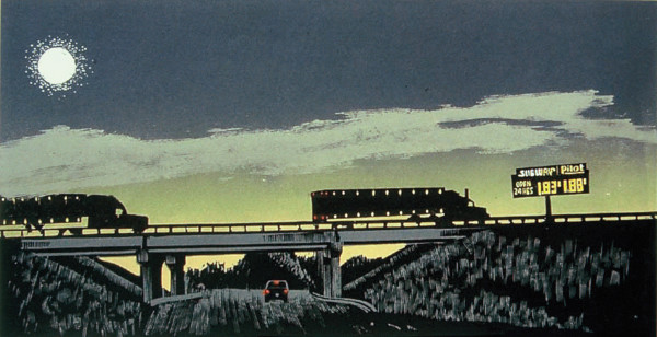 Truckin' at Night by Tony Lazorko