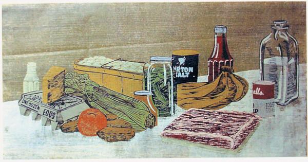 Supermarket Still Life by Tony Lazorko