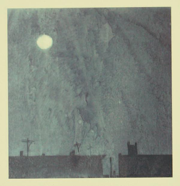 Moon Over South Philly by Tony Lazorko