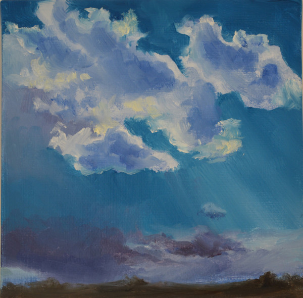 Backlit Clouds by Kathleen Moore