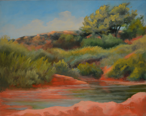 Water Crossing by Kathleen Moore