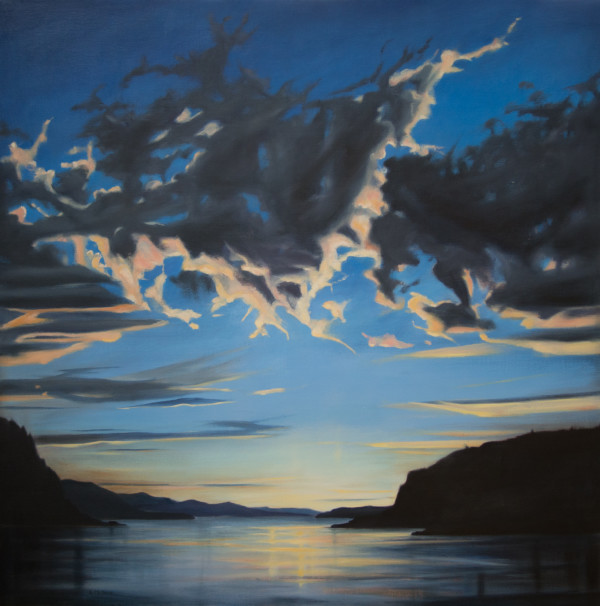 End of the Day, Gorge by Lisa McShane