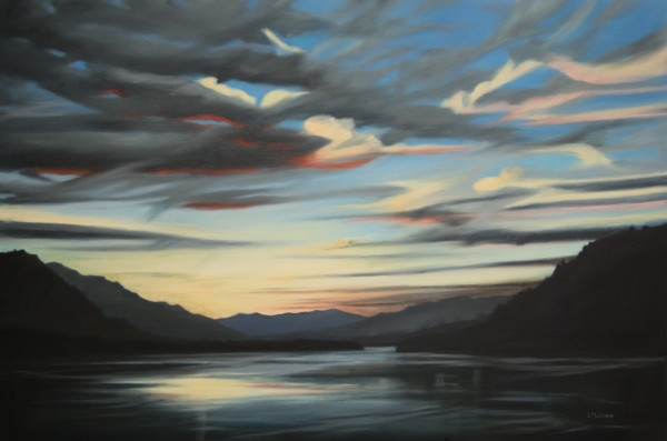 West in the Gorge by Lisa McShane