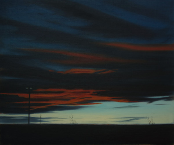 Parking Lot Sunset by Lisa McShane