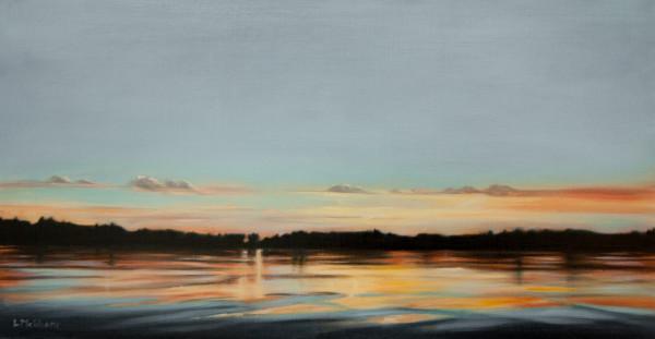 Salish Sunset by Lisa McShane