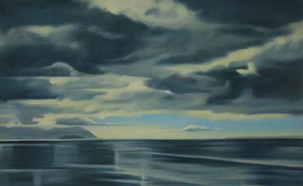 Clouds in Bellingham Bay by Lisa McShane