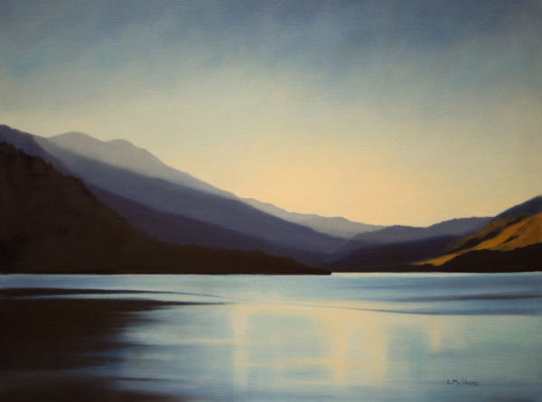 Lake, Early Evening by Lisa McShane