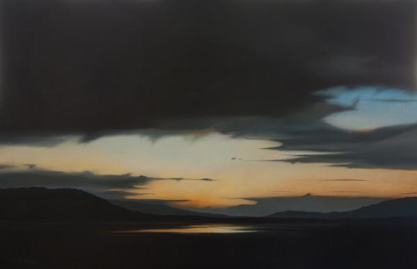 Winter Dusk, Padilla Bay by Lisa McShane