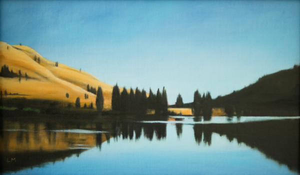 Morning at Fish Lake by Lisa McShane