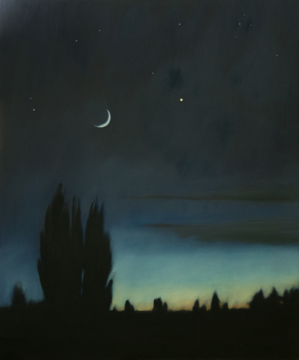 Poplars and the Summer Moon by Lisa McShane