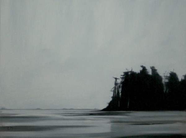 East Point in Winter by Lisa McShane
