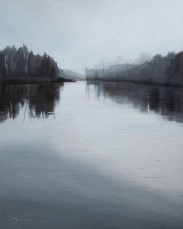 Lhaq'te'mish: Morning Fog on the Nooksack Delta by Lisa McShane