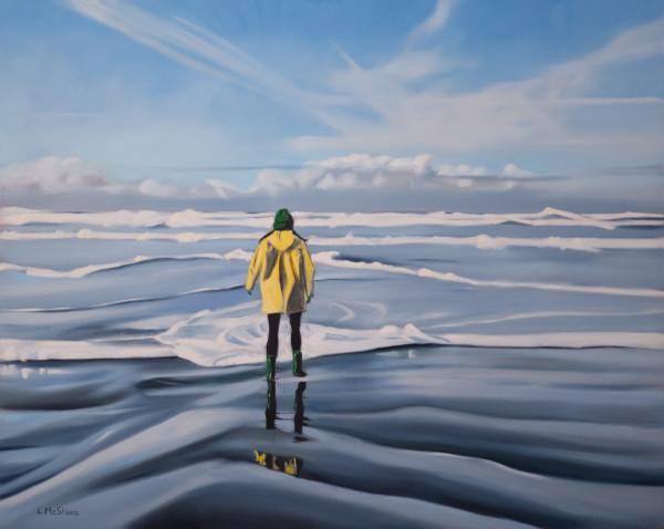 Quinault: Yellow Rain Coat by Lisa McShane