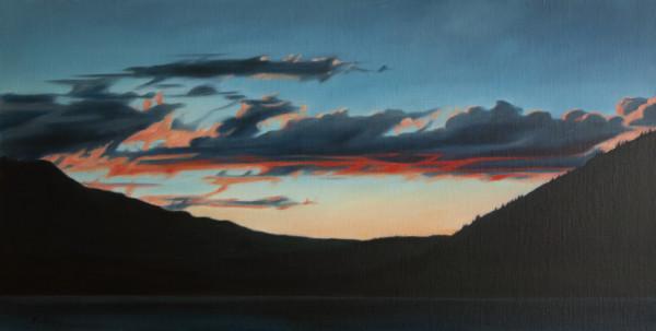 Lake at Dusk by Lisa McShane