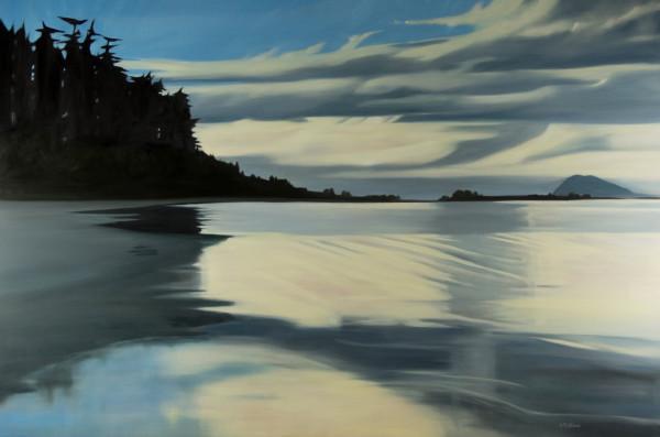 Samish Point at the Rising Tide by Lisa McShane