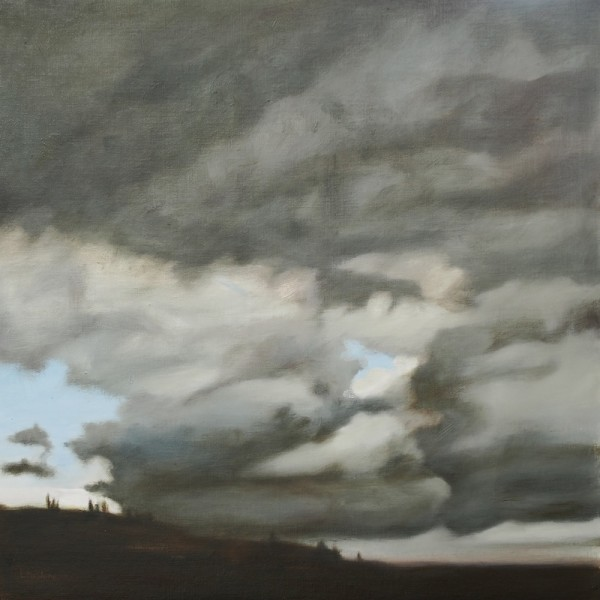 Val d'Orcia Storm by Lisa McShane
