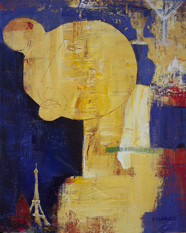 Another Humdrum Monday (Dreaming of Paris) by Mary Lou Blackledge