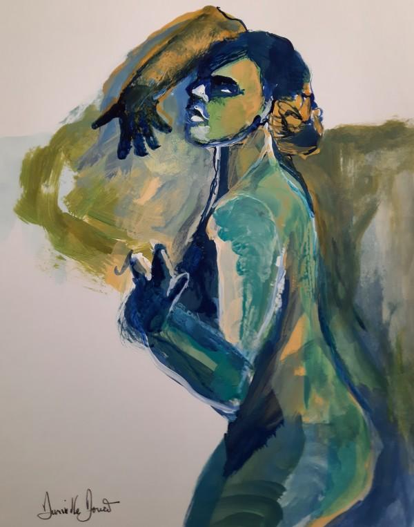 """9 Etude originale """"Les couleurs que l on porte """" by Danielle Doucet"""
