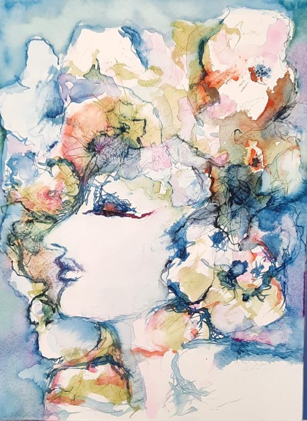 Femme Fleurs by Danielle Doucet
