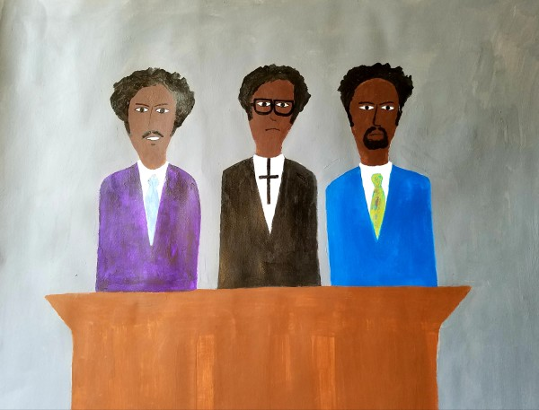 THREE PREACHERS, ONE PULPIT by Patrick-Earl Barnes