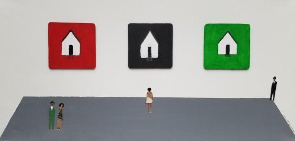 ART OPENING 13 by Patrick-Earl Barnes