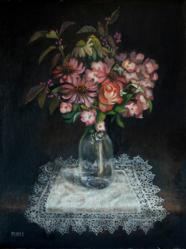 Still Life with Flowers by Sophie Ploeg