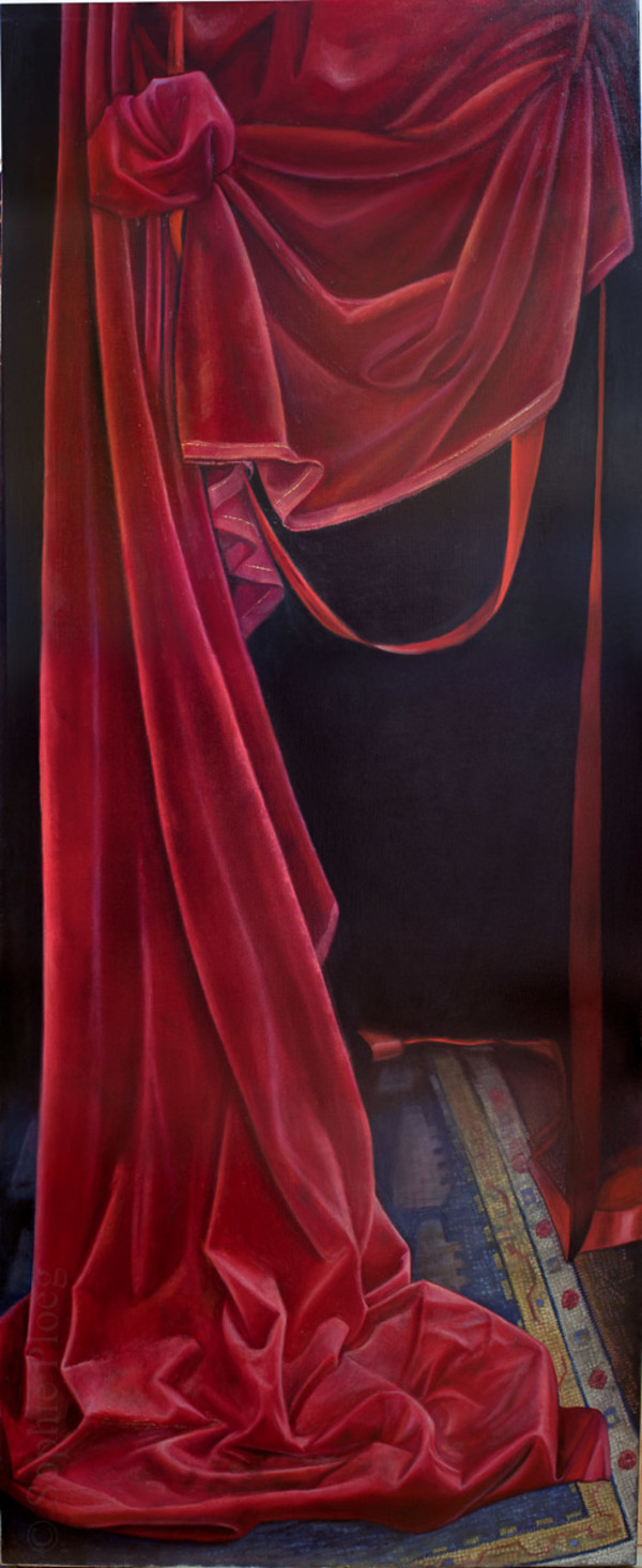 The Curtain Falls by Sophie Ploeg