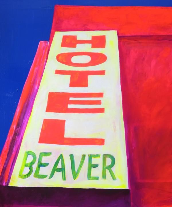 Beaver Hotel Treaty 6 Territory by Wendy Sharpe