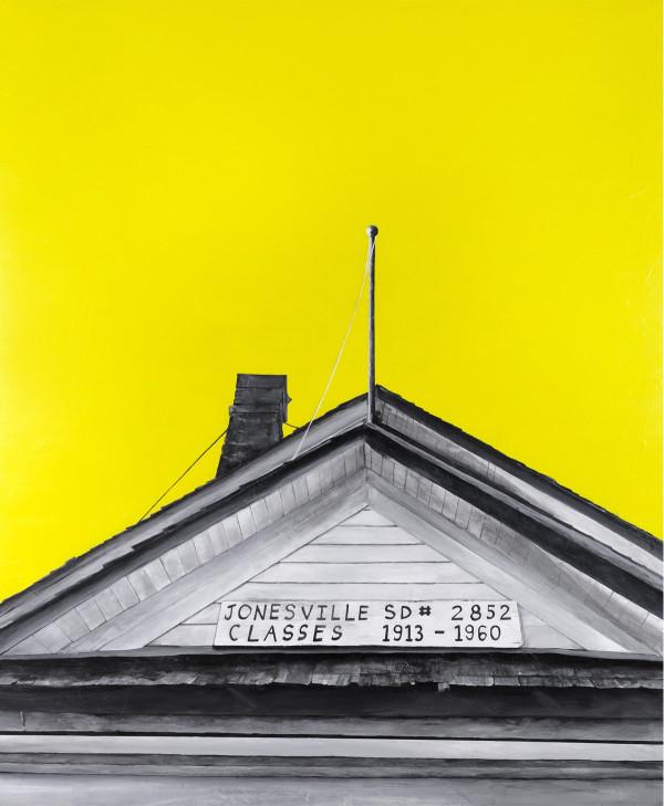 Jonesville School by Wendy Sharpe