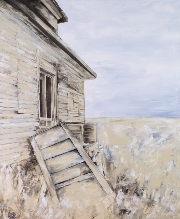 Old School by Wendy Sharpe