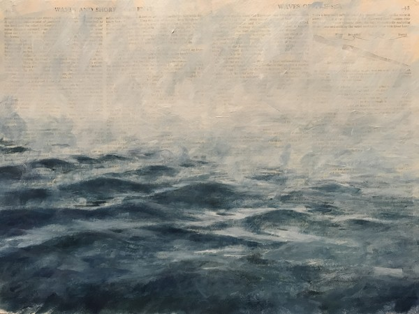Waves of the ocean by Krista Machovina
