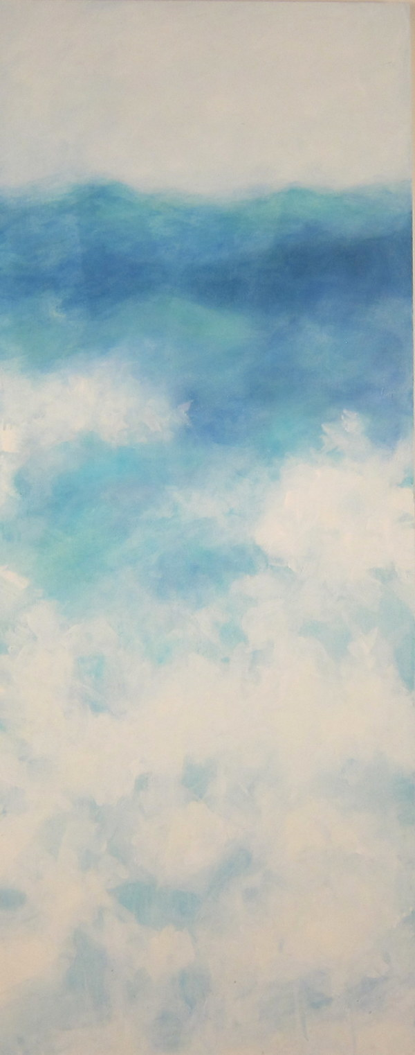 Sea Sky Series: frothy by Krista Machovina