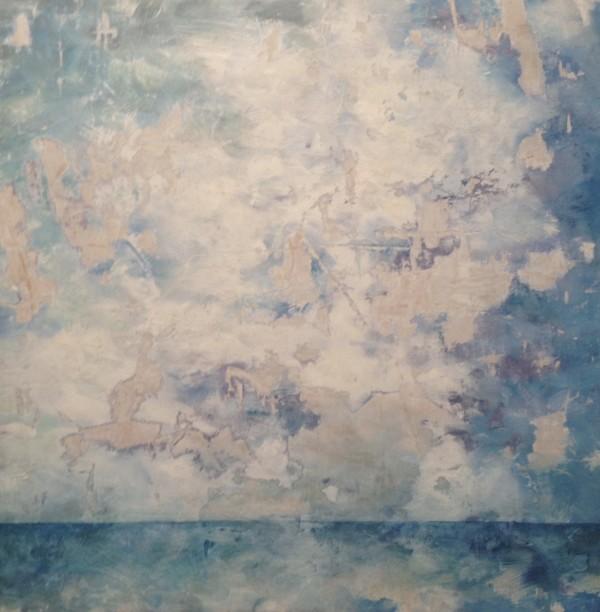 Horizon Series: Deconstructionist Blue by Krista Machovina