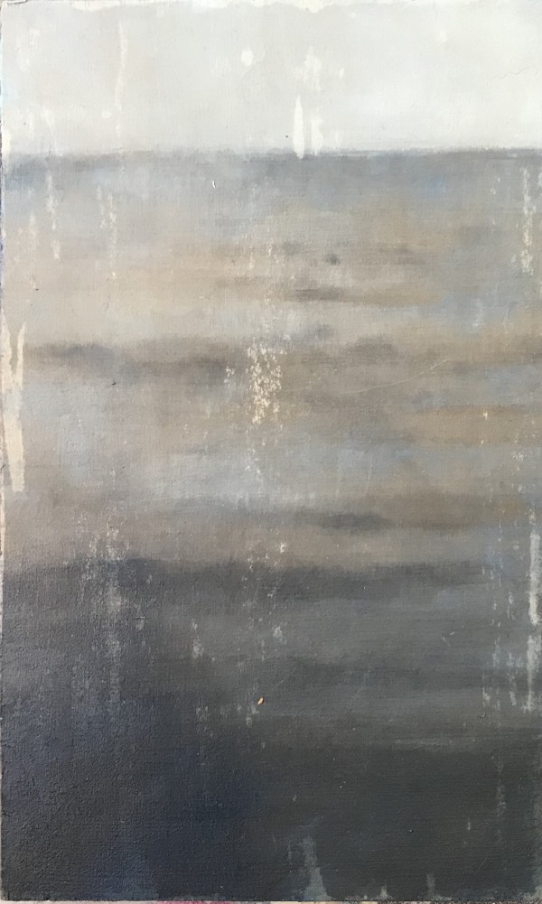 Near and Distant Shores:  Sea Blue Grey by Krista Machovina