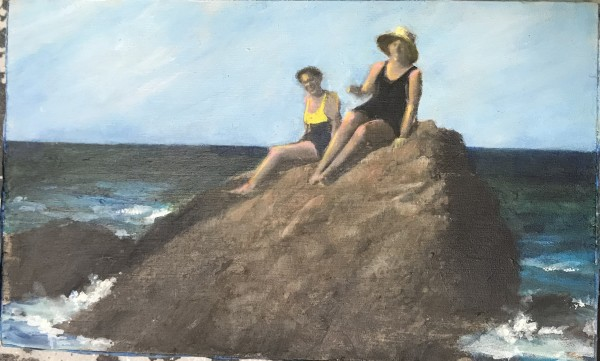 Near and Distant Shores: On the Rocks by Krista Machovina