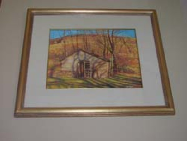 Ice House - Fall Afternoon by Rick Stoner